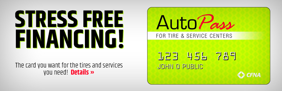 Financing – 12th Street Auto Care Center