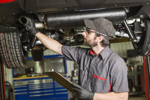 muffler repair exhaust system Sioux Falls